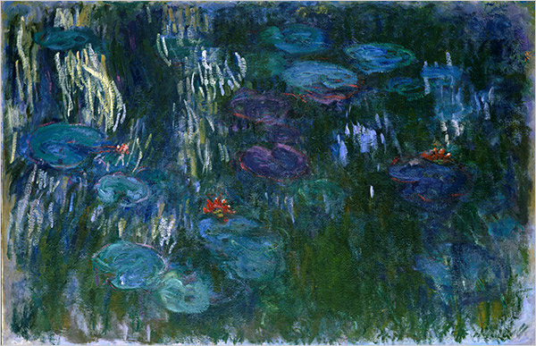Monet_water lillies (Two Variations On)